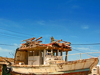 Boot auf Manoel Island