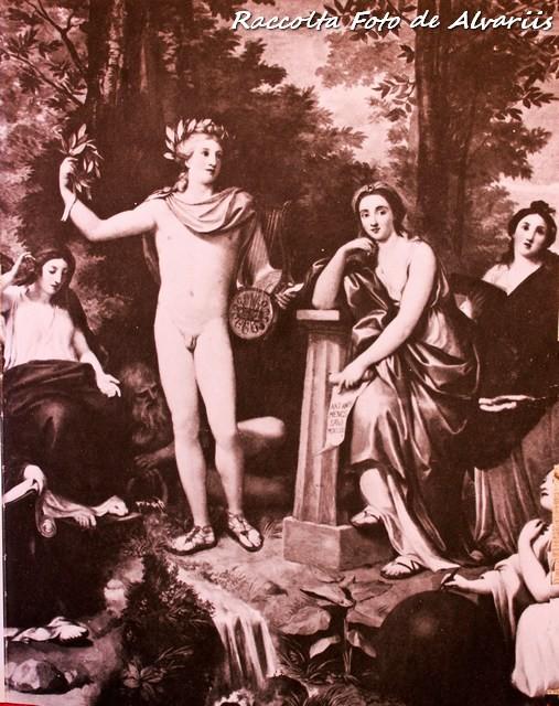 1761 2005  villa Albani c, Anton Raphael Mengs, Parnaso affresco