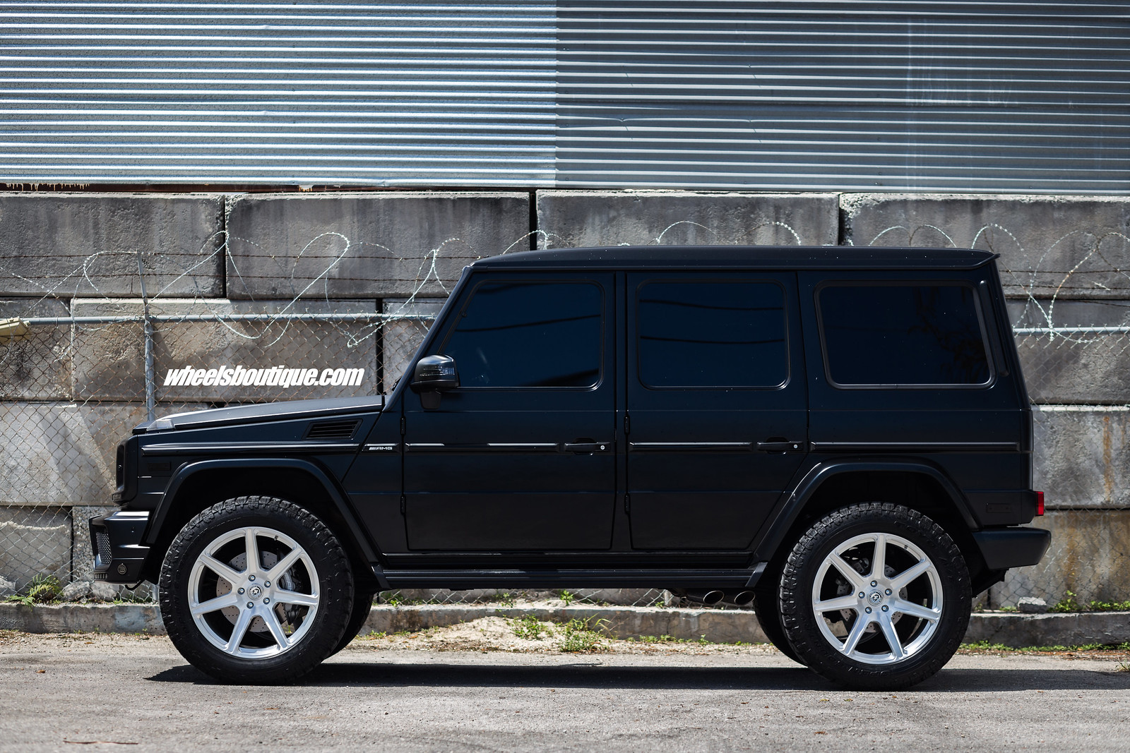 """Mercedes Benz G Wagon 2017 >> G-Wagons """"R' Us - Another Lifted Mercedes-Benz G63 on HRE's by TeamWB - CorvetteForum ..."""