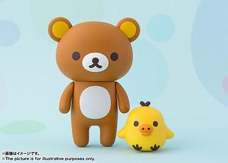 超人氣的慵懶與調皮角色《拉拉熊》登場~ フィギュアーツZERO リラックマ 拉拉熊 & 懶熊妹