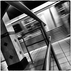 Moving Subway Car