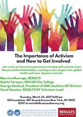 Activism March 22