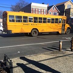 2002 Bluebird International 3800 DT466E, Grandpa's Bus Co. Bus#2261, Air Brakes, Air Ride, Radio, No AC.