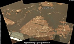 Mars: Approaching 'Ogunquit Beach'