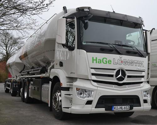 Mercedes Antos 2543 - HaGe Logistik Kiel - D  KI HL 612