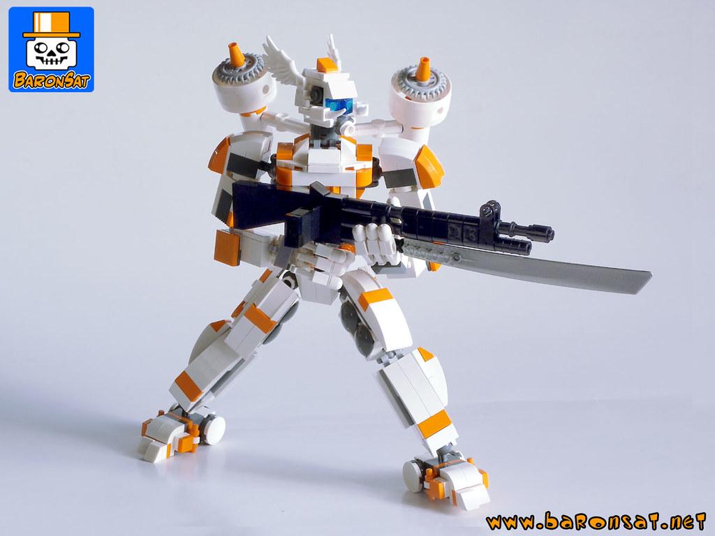 MECHANGEL 01 (custom built Lego model)