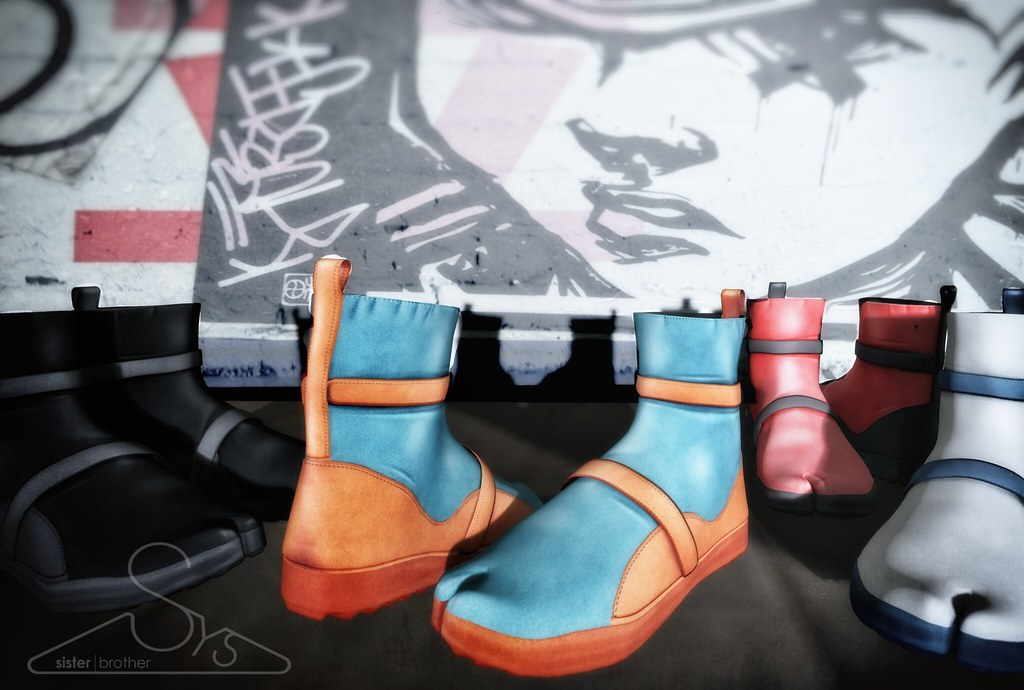 [sYs] KINJO tabi shoes Male - SecondLifeHub.com