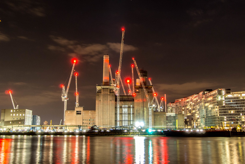 Battersea Power Station by Night