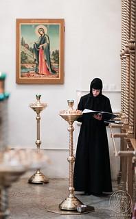 Литургия в Хутынском монастыре 200