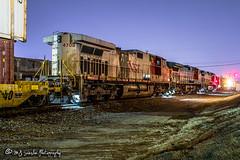 BNSF 4708 | GE C44-9W | BNSF Thayer South Subdivision