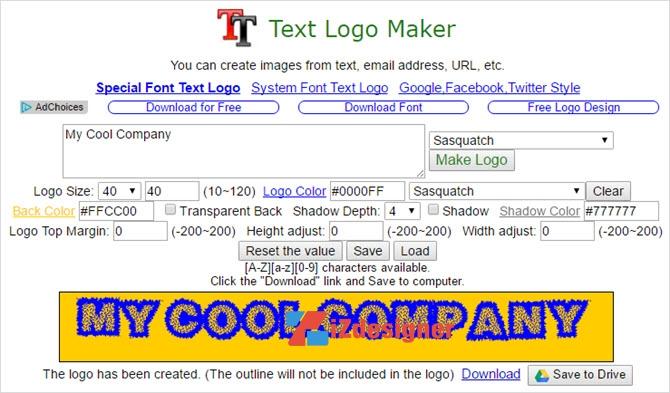 7 Công cụ thiết kế Logo trên trình duyệt Chrome