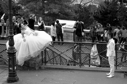 iParis: la mariée et le marié