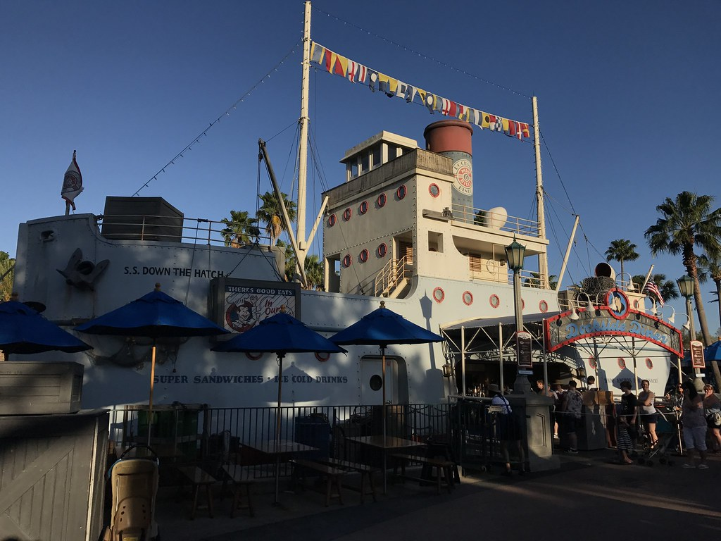 Min and Bill's Dockside Diner, Disney's Hollywood Studios