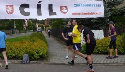 Hradubický běh - netradiční závod s dvěma starty a jedním cílem