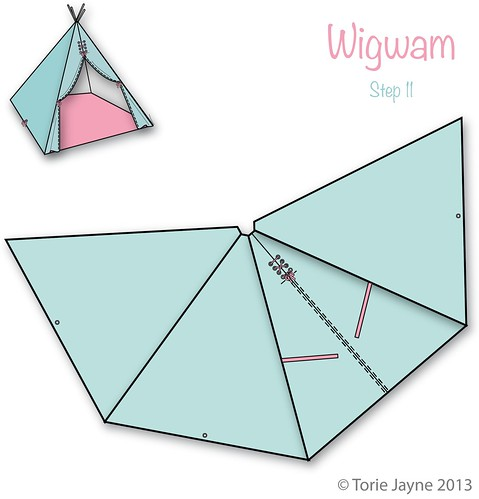 Wigwam Step 11