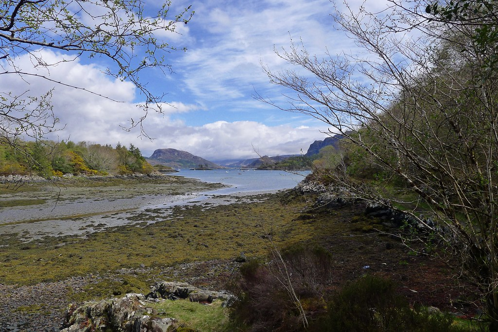 Plockton from the coastal path