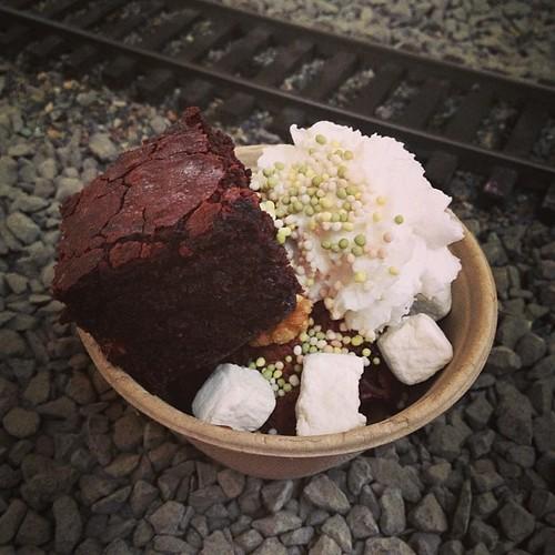 Brownie Sundae! #vvc2013 #vegan #galarama