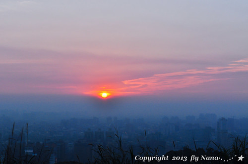 light sunset sky mist love beautiful fog twilight nikon taiwan 台灣 日落 雲彩 黃昏 台灣taiwan i 我愛台灣 taoyuantaiwan d7000 mistsunset