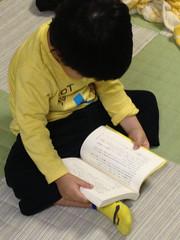 本を読むふり 2013/5