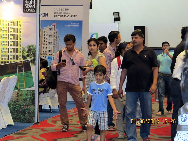 Visit Times Property Showcase 2013, 1st &2nd June 2013, JW Marriott, S B Road, Pune