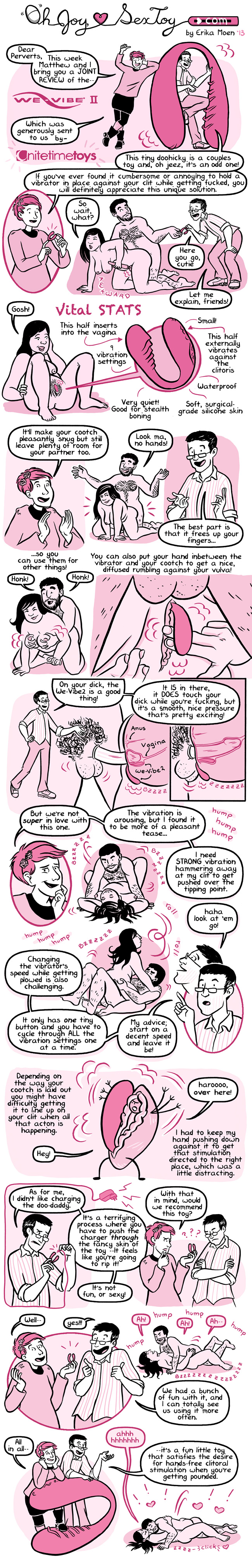 Oh Joy Sex Toy comic