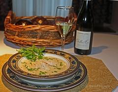 homemade avgolemono soup