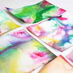 Thumbnail image for Science & Art for Kids: Marbled Milk Paper