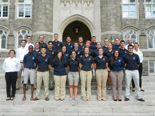 NSLC staff at Fordham University