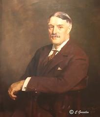 ROBERT WILSON REFORD    1867-1951     PAINTING       LES JARDINS DE M�TIS      REFORD GARDENS     M�TIS    QU�BEC     CANADA