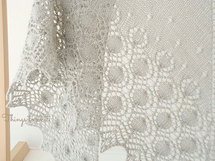 dew drops shawl