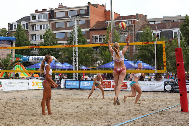 Leuven Beachvolley 2013