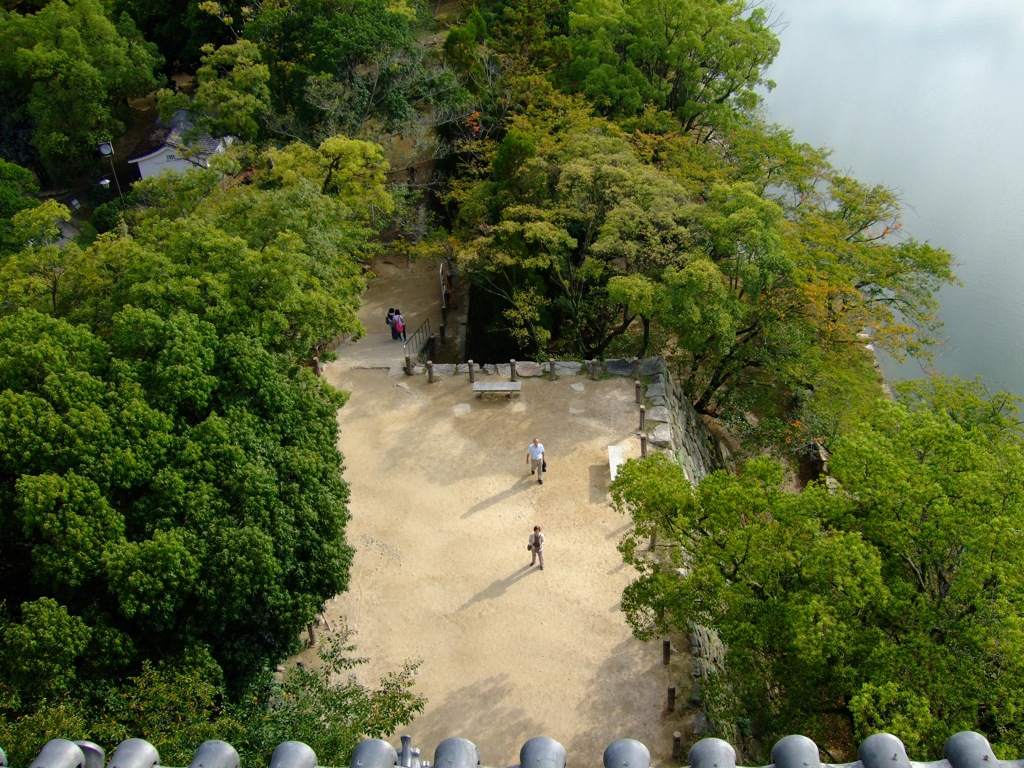 View from Hiroshima Castle 2