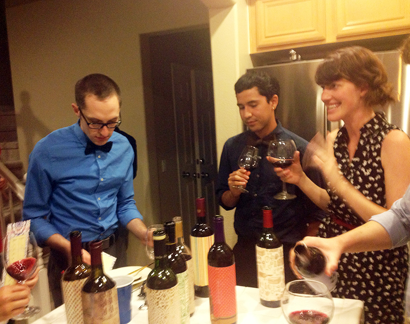 Kims Wine Tasting Party