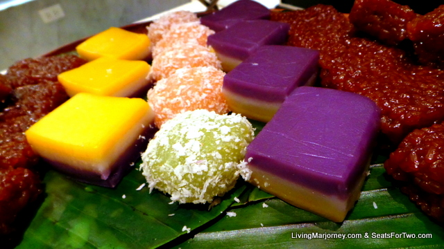 Colorful Pinoy Rice Cakes