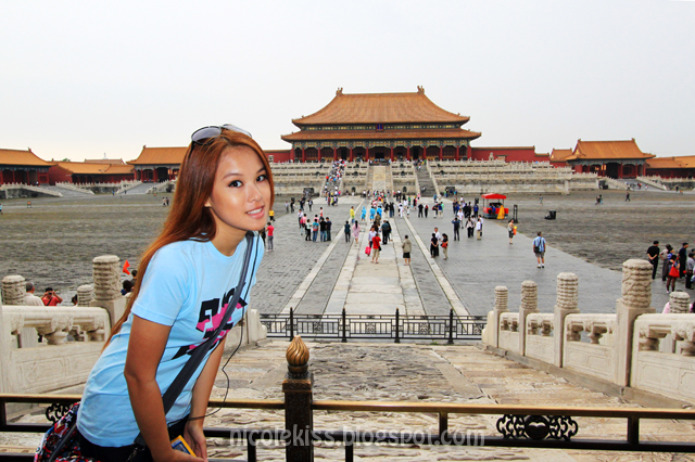 Nicolekiss at Forbidden City, Beijing