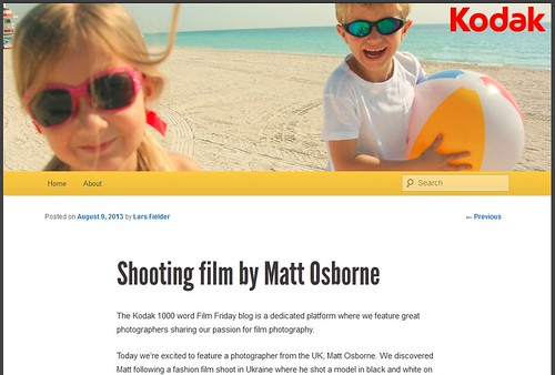Kodak 1000 Word Film Friday Blog! by MatthewOsbornePhotography_