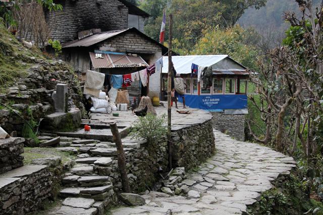 Lovely village of Tikhedunga