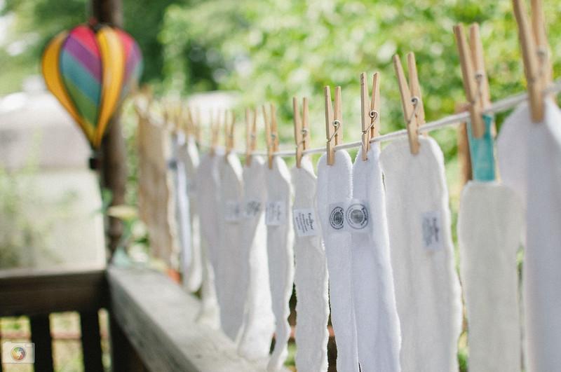 cloth diaper insert drying