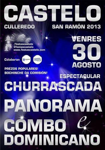 Culleredo 2013 - Festas de San Ramón en Castelo - cartel 2