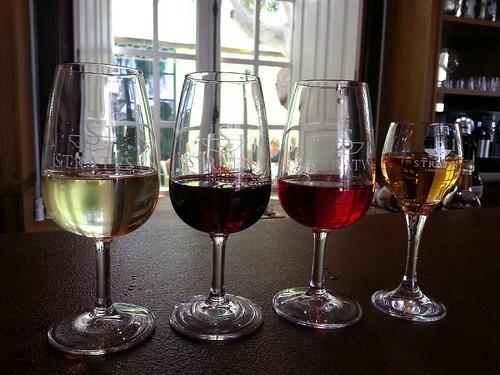 wine tasting in La Geria