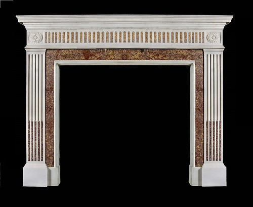 Burlington marble fire surround by stephencritchley