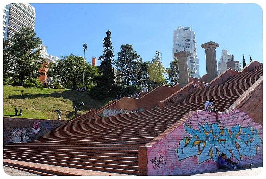 rosario river promenade stairs