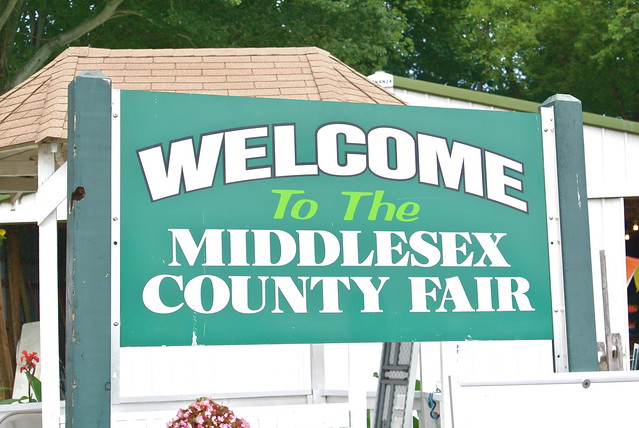 WEARING • At The Middlesex County Fair 2013.
