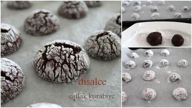 çatlak kurabiye yapılışı