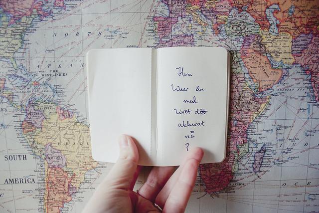 Dere skriver