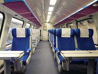 Czech Elefant train - 1st class