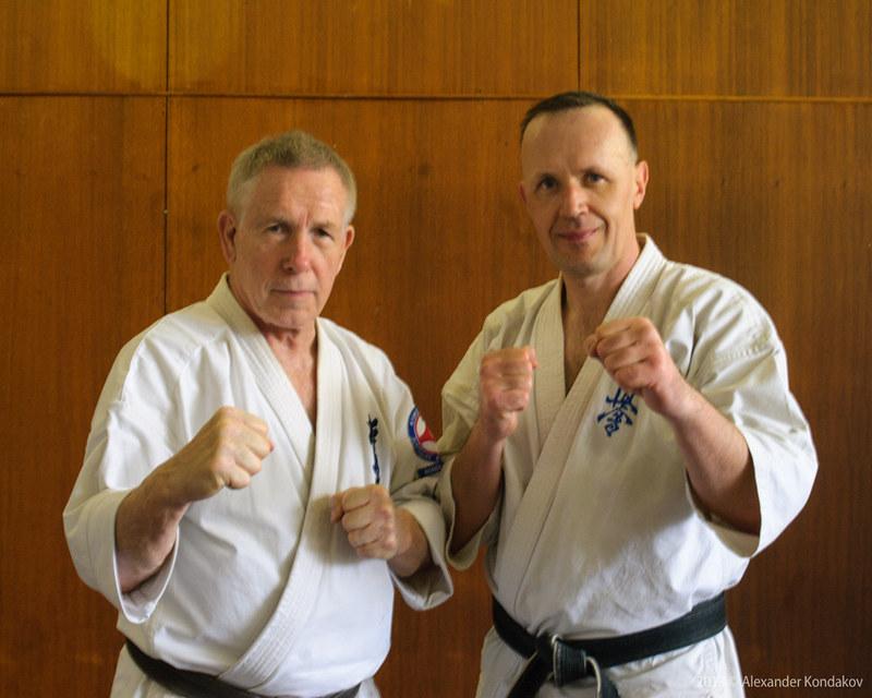 Kyokushin Karate Spring Camp 2013 Hanshi  John Taylor