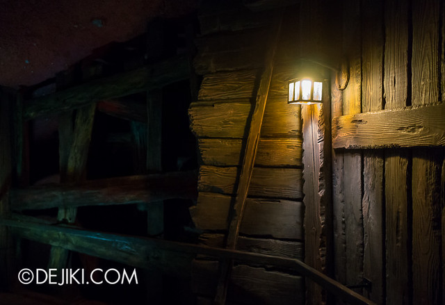 Splash Mountain - Unload and Exit