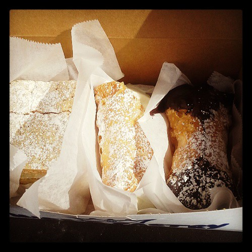 Cannoli in the North End