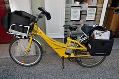 postal bike - Photo of Épinal